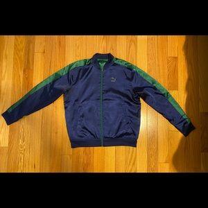 Puma satin bomber jacket reversible.